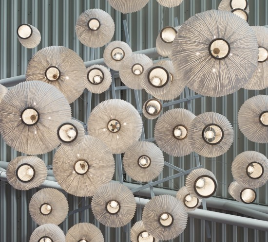 arturo alvarez Coral collection handmade pendant lamp