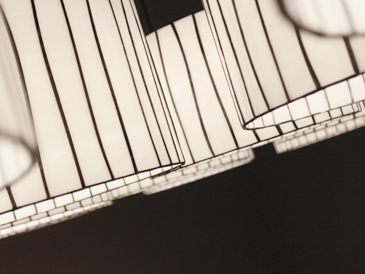 arturo alvarez Curvas handmade pendant lamp