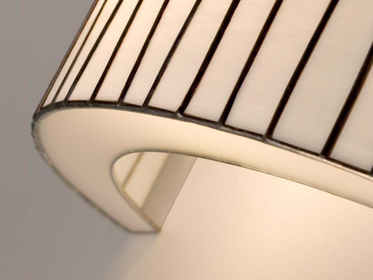 arturo alvarez Curvas handmade wall lamp