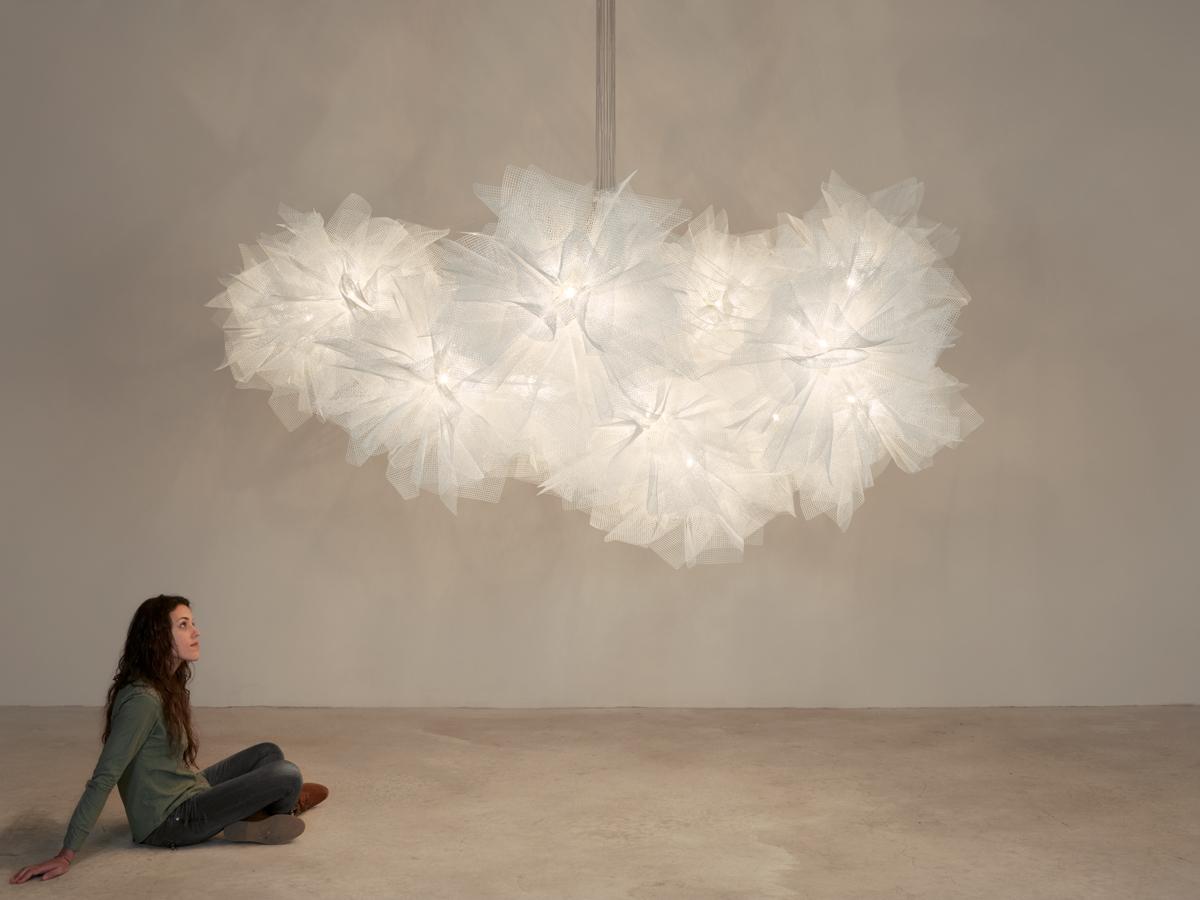 arturo alvarez Fluo handmade chandelier