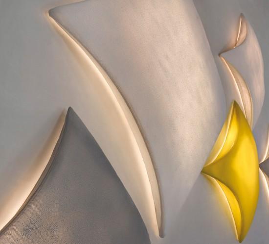 arturo alvarez Kite handmade wall lamp
