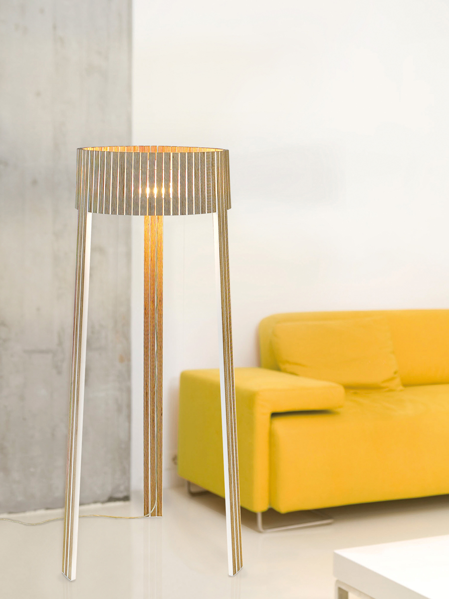 arturo alvarez Shio handmade floor lamp