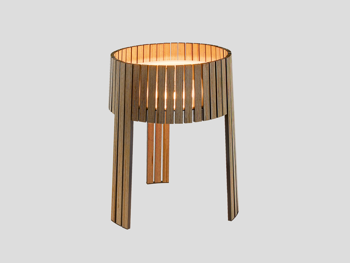 arturo alvarez Shio handmade table lamp