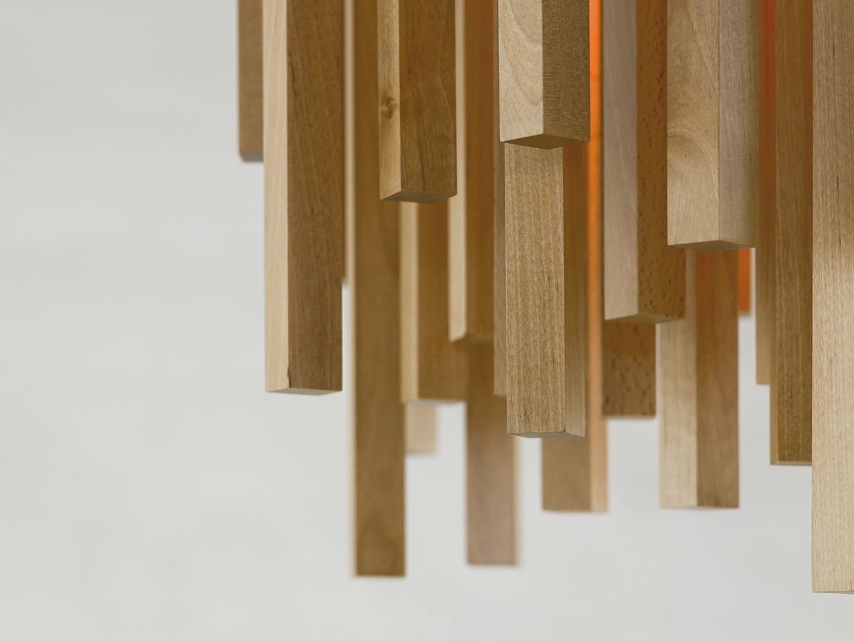 arturo alvarez Woods handmade pendant lamp