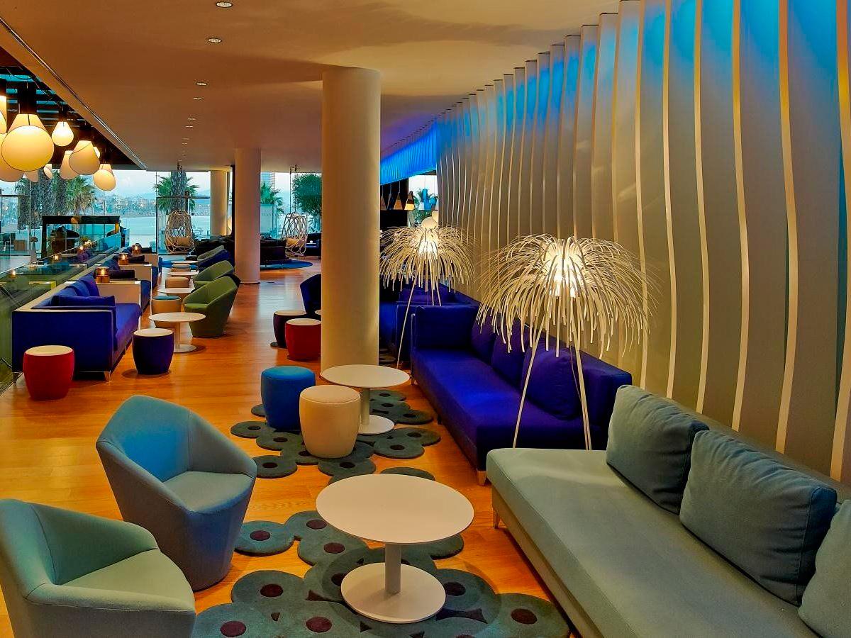 Hotel w barcelona arturo alvarez l mparas de dise o for Hotel barcelona diseno