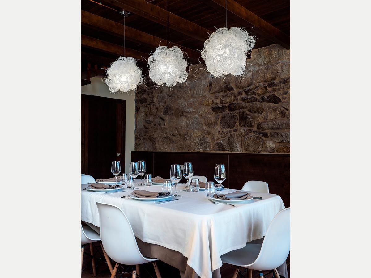 arturo alvarez project Restaurante Porta do Sol de Lamela Galicia Blum Pendant Lamp 02