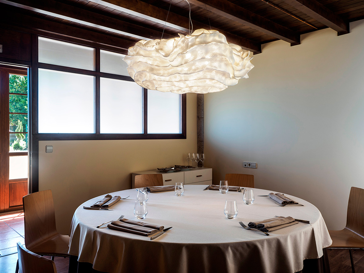 arturo alvarez project Restaurante Porta do Sol de Lamela Galicia Nevo Pendant Lamp 01