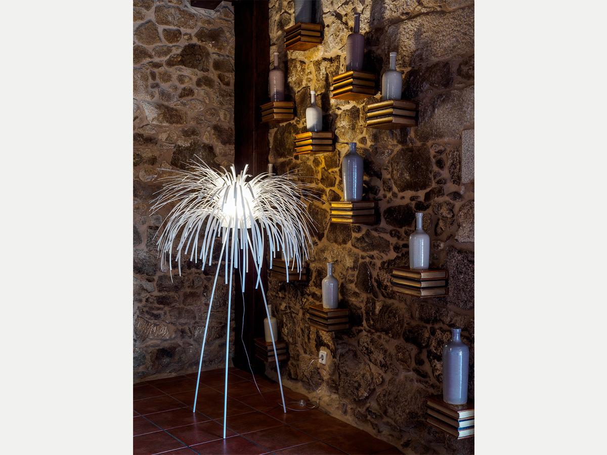 arturo alvarez project Restaurante Porta do Sol de Lamela Galicia Tina Floor Lamp 01