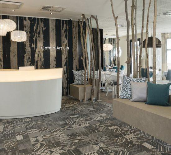 arturo alvarez project Hotel les bains d'Aurgin Francia Coral Pendant Lamp